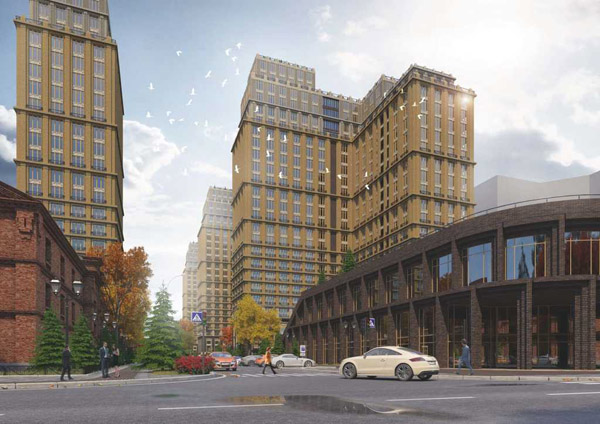 The Development project in Novosibirsk